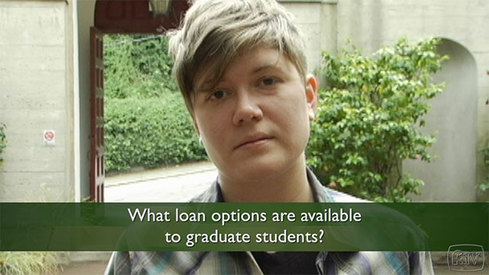 What loan options are available to graduate students?
