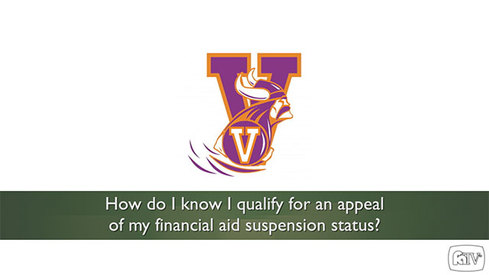 How do I know I qualify for an appeal of my financial aid suspension status?