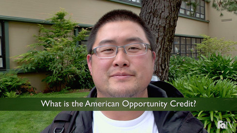 What is the American Opportunity Credit?