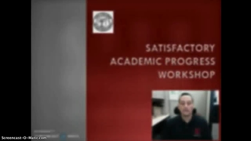 CCSF Satisfactory Academic Progress Appeal Workshop