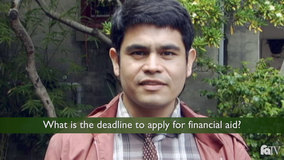 Thumbnail of What is the deadline to apply for financial aid?