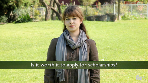 Is it worth it to apply for scholarships?