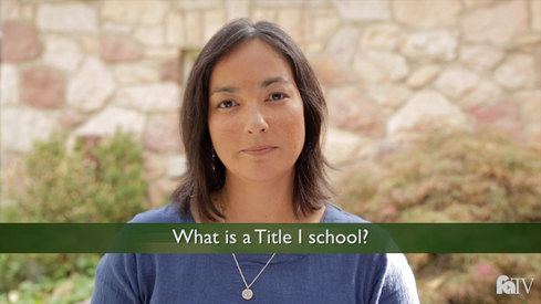 What is a Title I school?