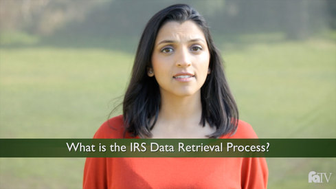 What is the IRS Data Retrieval Process?