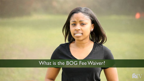 What is the BOG Fee Waiver?