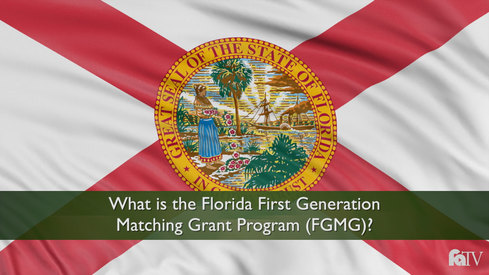 What is the Florida First Generation Matching Grant Program (FGMG)?