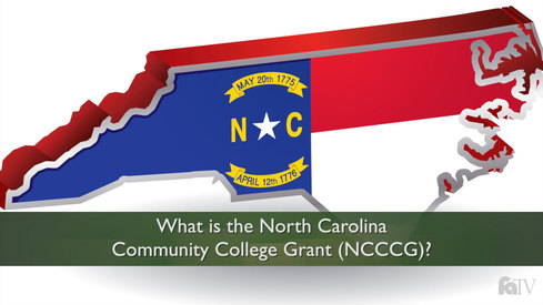 What is the North Carolina Community College Grant (NCCCG)?