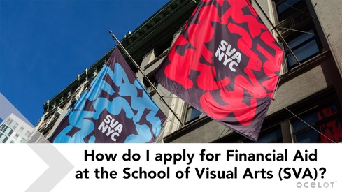 How Do I Apply for Financial Aid at the School of Visual Arts (SVA)?