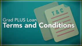 Thumbnail of Grad PLUS Loan Terms and Conditions