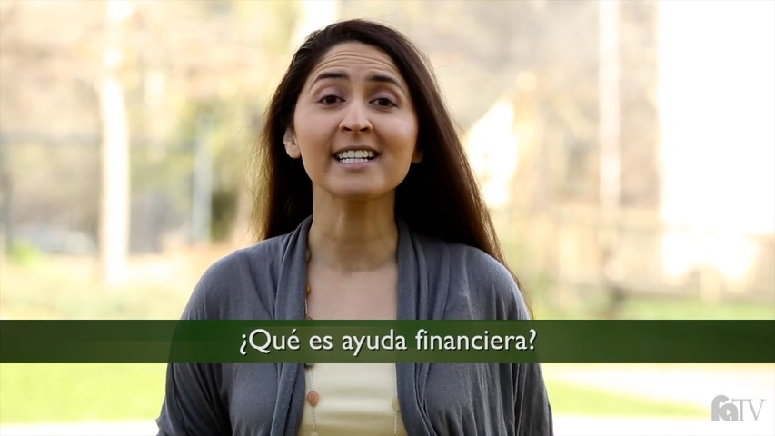 Trending Video ¿Qué es ayuda financiera?