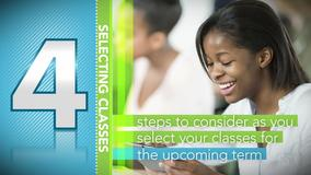 Thumbnail of A Minute to Learn It - 4 Steps to Selecting Your Classes