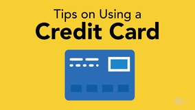 Thumbnail of Tips on Using a Credit Card