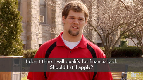 I don't think I will qualify for financial aid. Should I still apply?