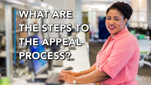What are the steps to the Appeal process?