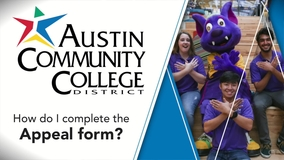 Thumbnail of How do I complete the Appeal form? (GetSAP Austin CC)