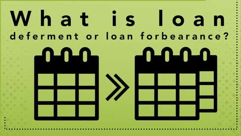What is loan deferment or loan forbearance?