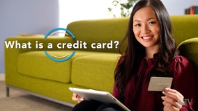 Thumbnail of What is a credit card?