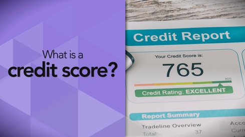 What is a credit score?