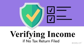 Thumbnail of Verifying Income if No Tax Return Filed