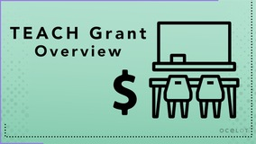 Thumbnail of TEACH Grant - Overview