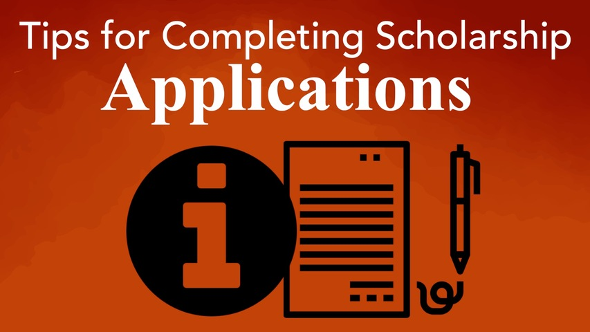 Trending Video Tips for Completing Scholarship Applications