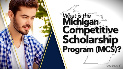 What is the Michigan Competitive Scholarship Program (MCS)?