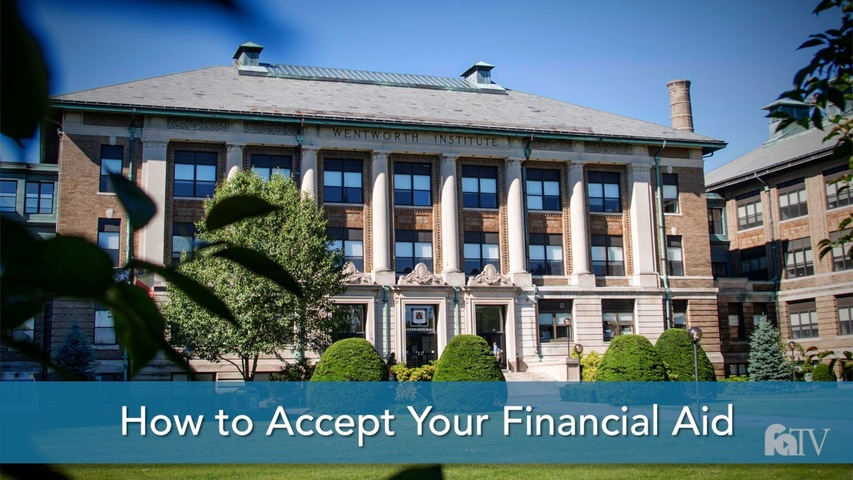 Trending Video How to Accept Your Financial Aid