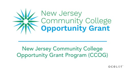New Jersey Community College Opportunity Grant Program (CCOG)
