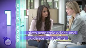 Thumbnail of A Minute to Learn It - 5 Things to Know About Academic Advisors