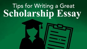 Thumbnail of Tips for Writing a Great Scholarship Essay