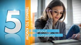 Thumbnail of A Minute to Learn It - 5 Things You Need to Know about Budgeting