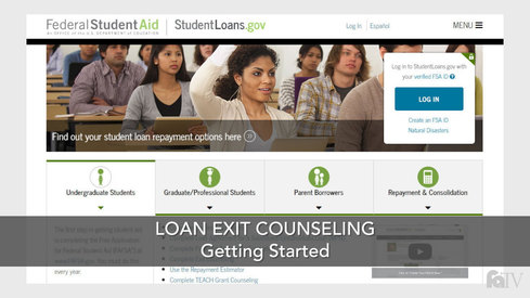 Loan Exit Counseling - Getting Started