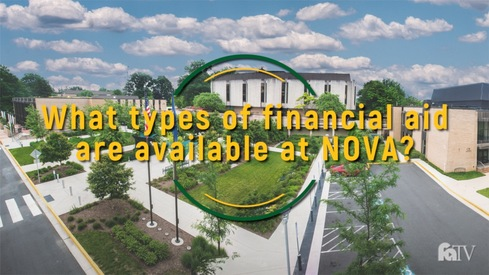 What types of financial aid are available at NOVA?