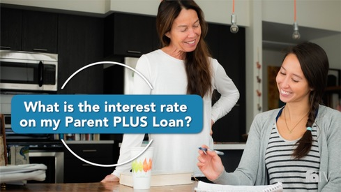 What is the interest rate on my Parent PLUS Loan?