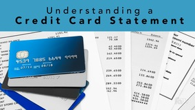 Thumbnail of Understanding a Credit Card Statement
