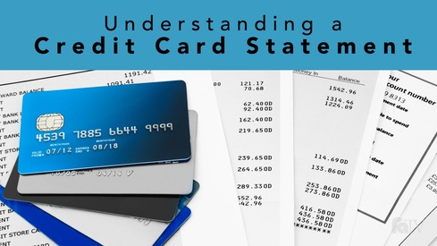 Understanding a Credit Card Statement