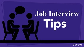 Thumbnail of Job Interview Tips