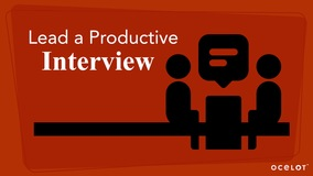 Thumbnail of Lead a Productive Interview
