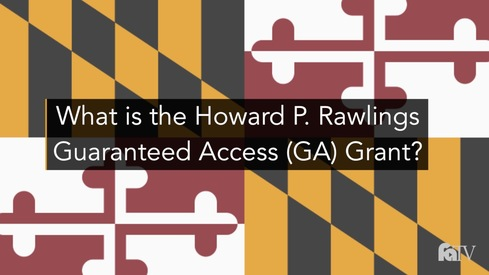 What is the Howard P. Rawlings Guaranteed Access (GA) Grant?