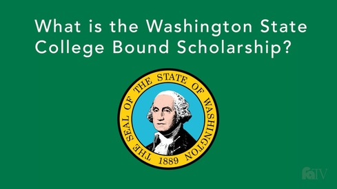 What is the Washington State College Bound Scholarship?
