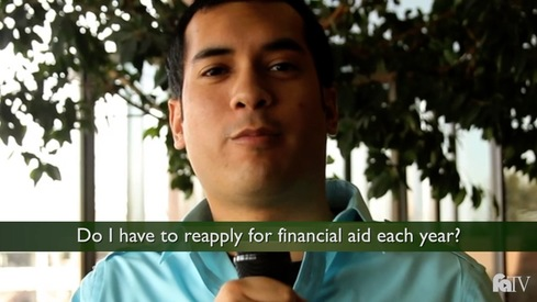 Do I have to reapply for financial aid each year?