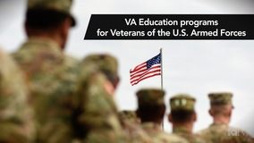 Thumbnail of VA Education programs for Veterans of the U.S. Armed Forces