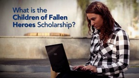 Thumbnail of What is the Children of Fallen Heroes Scholarship?