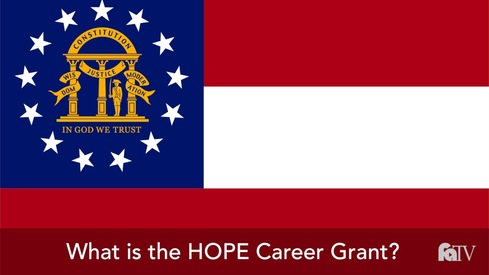 What is the HOPE Career Grant?