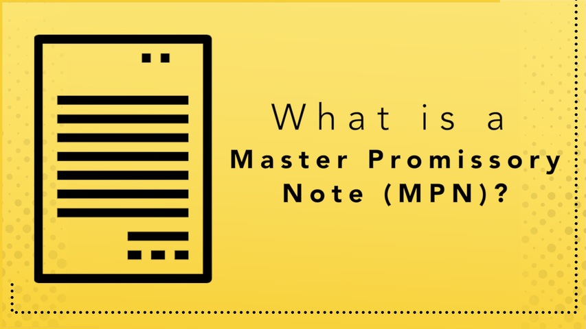 Trending Video What is a Master Promissory Note?