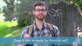 Thumbnail of Does it cost to apply for financial aid?