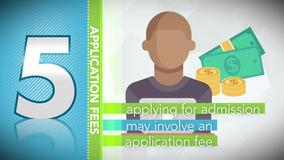 Thumbnail of A Minute to Learn It - 5 Things You Need to Know About College Application Fees