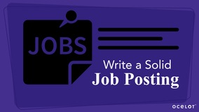 Thumbnail of Write a Solid Job Posting