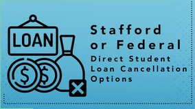 Thumbnail of Stafford or Federal Direct Student Loan Cancellation Options