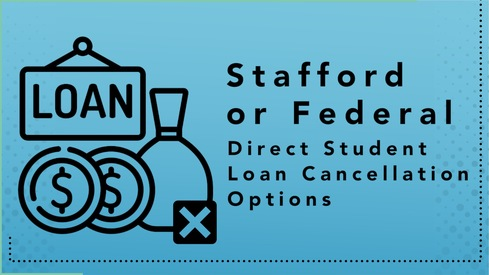 Stafford or Federal Direct Student Loan Cancellation Options